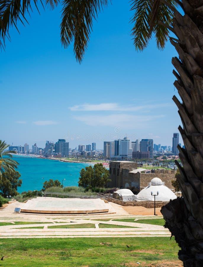 De oude stad van Tel Aviv royalty-vrije stock afbeeldingen