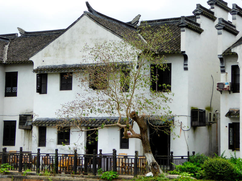 De oude stad van Xitang royalty-vrije stock afbeelding