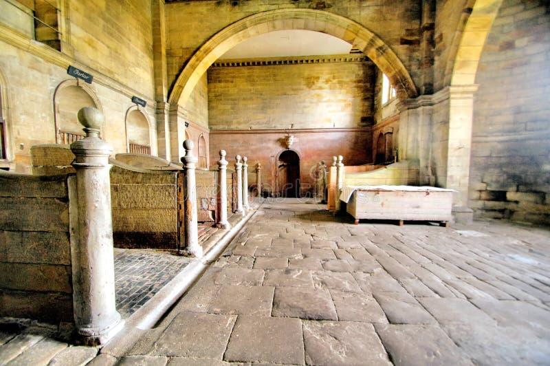 De Oude Stallen in Seaton Delaval Hall royalty-vrije stock foto