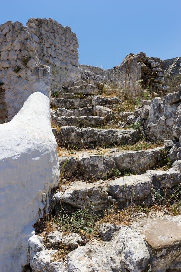De oude steentreden stock afbeeldingen