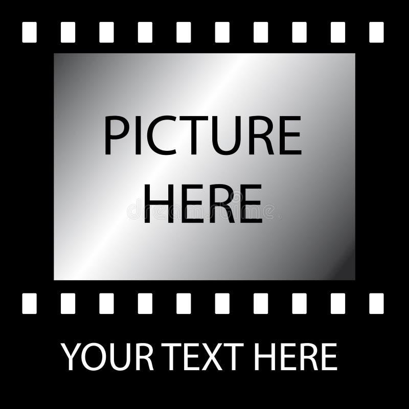 De oude strook van de Film royalty-vrije illustratie