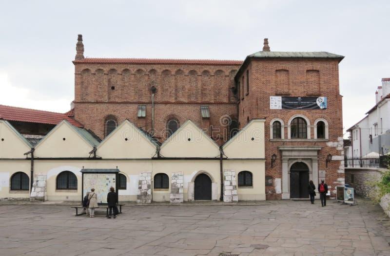 De Oude Synagoge, Krakau royalty-vrije stock fotografie