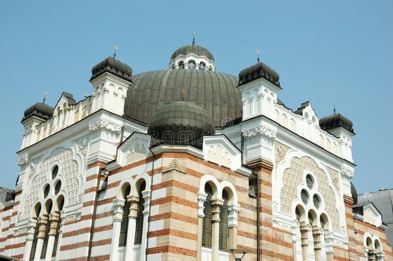 De oude Synagoge van Sofia, Bulgarije, de Balkan, Europa royalty-vrije stock afbeeldingen