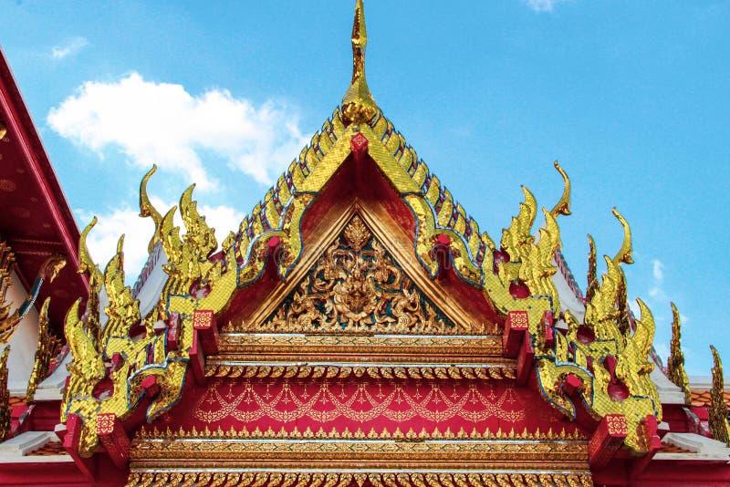De oude tempel van Boedha in Ayutthaya, Thailand stock foto