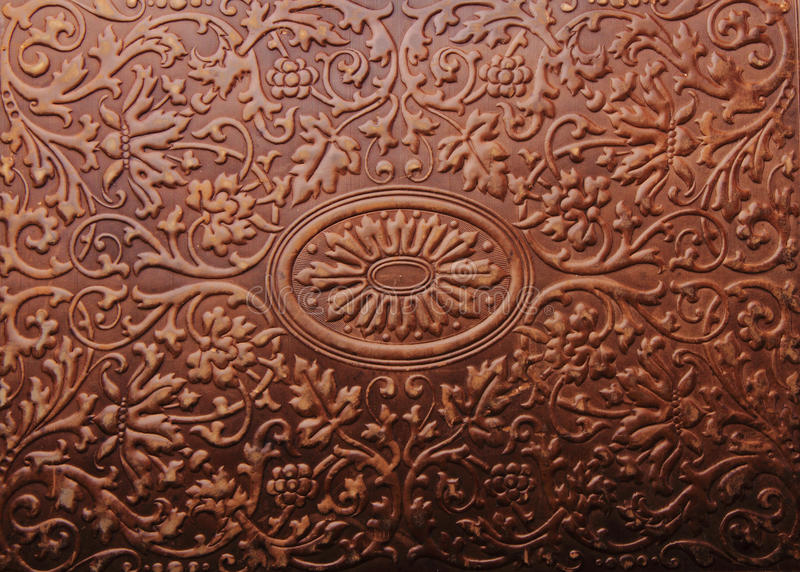 De oude textuur van de boekdekking royalty-vrije stock fotografie