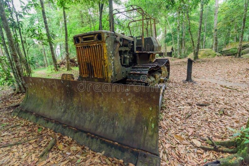 De oude tractor royalty-vrije stock foto's
