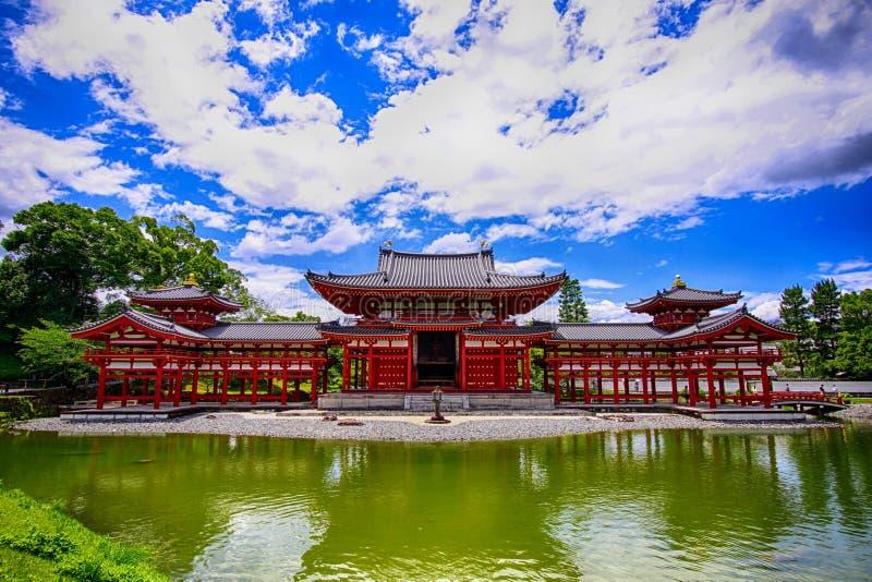 De oude Traditionele Japanse Tempelbouw in Uji Japan royalty-vrije stock foto