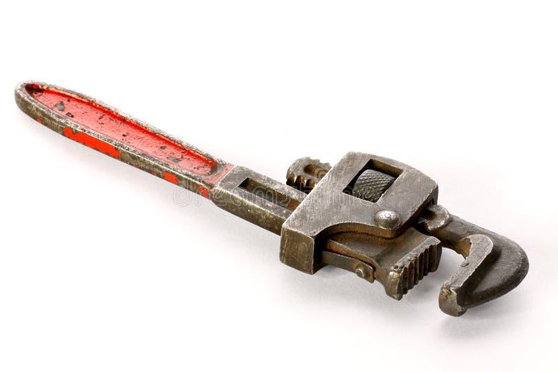 De moersleutel van de pijp stock fotografie