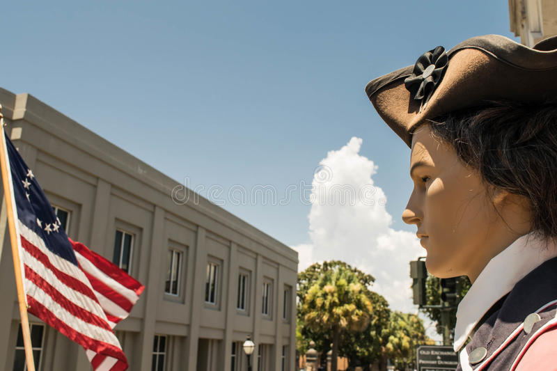 De Oude Uitwisseling en Provost kerker-Charleston, Zuid-Carolina royalty-vrije stock foto's