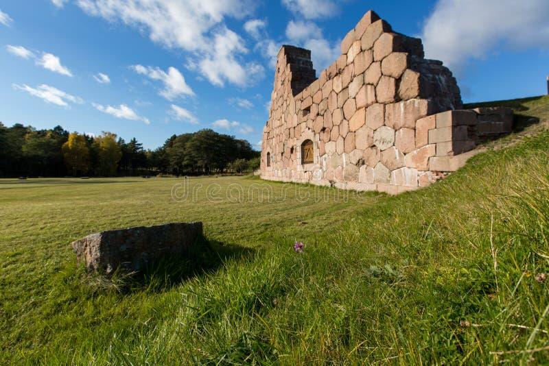 De oude vesting in Finland stock fotografie