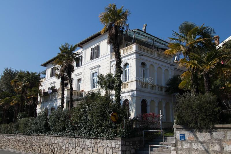 De oude villa stock fotografie