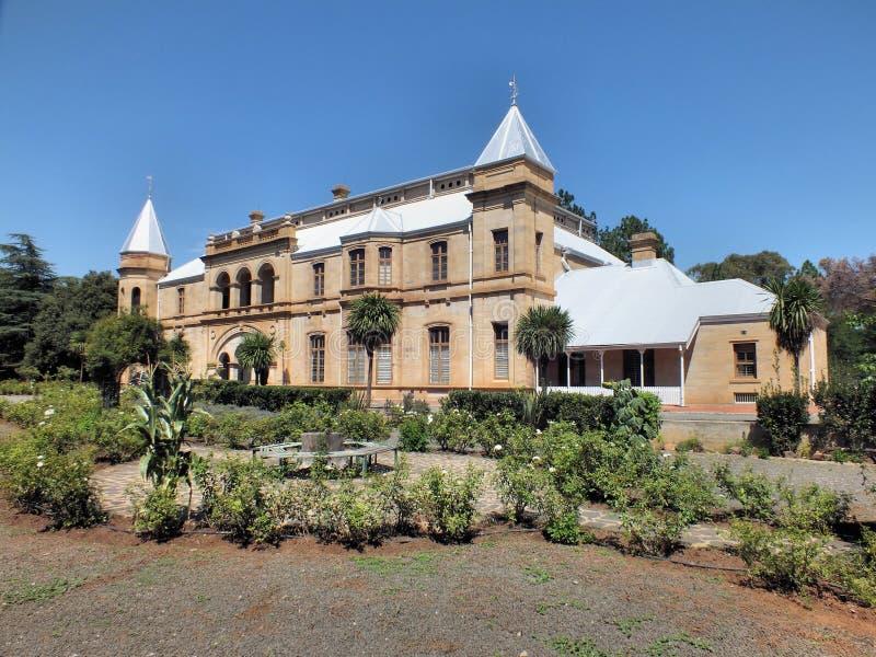 De oude Voorzitterschapsbouw in Bloemfontein stock afbeeldingen