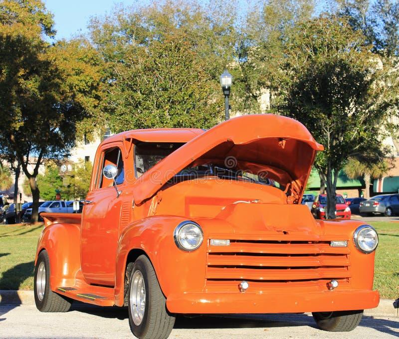 De oude Vrachtwagen van Chevrolet royalty-vrije stock afbeeldingen