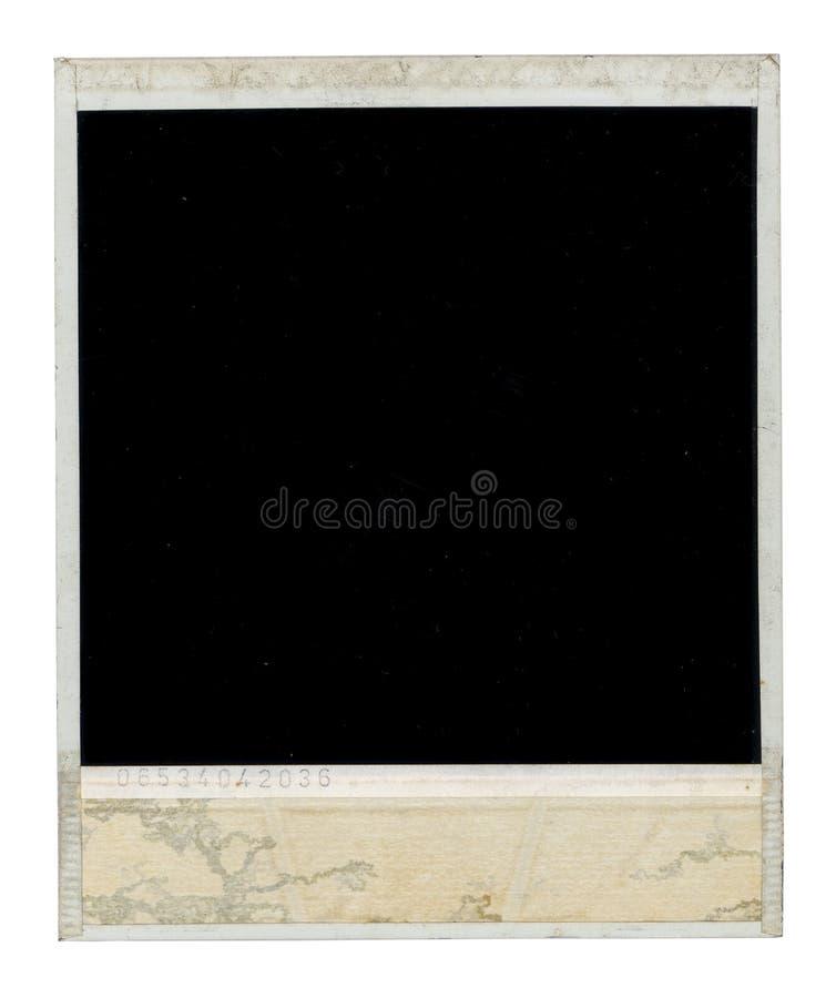 De vuile Polaroid- Rug van het Kader royalty-vrije stock foto