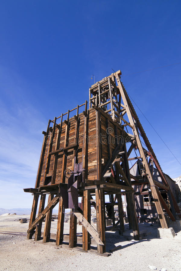 De oude Werken van de Mijnbouw royalty-vrije stock afbeeldingen