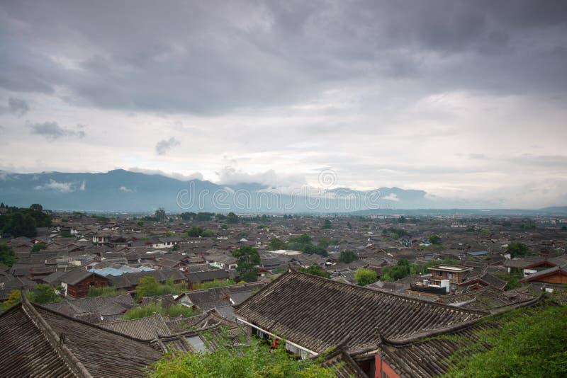 De oude yunnan stad van Lijiang, China royalty-vrije stock afbeelding