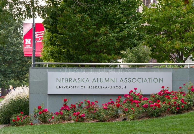 De Oudstudentenvereniging van Nebraska stock afbeelding