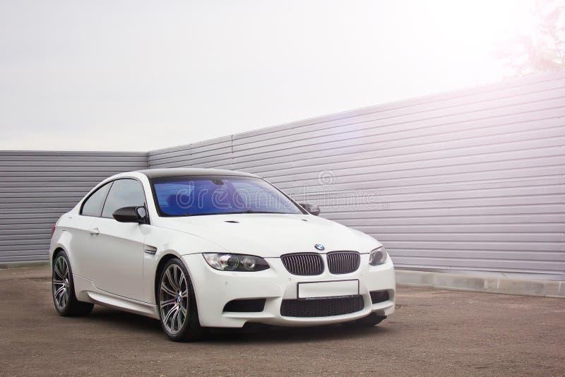 19 de outubro de 2016; Kiev, Ucrânia; BMW M3 E92 foto de stock