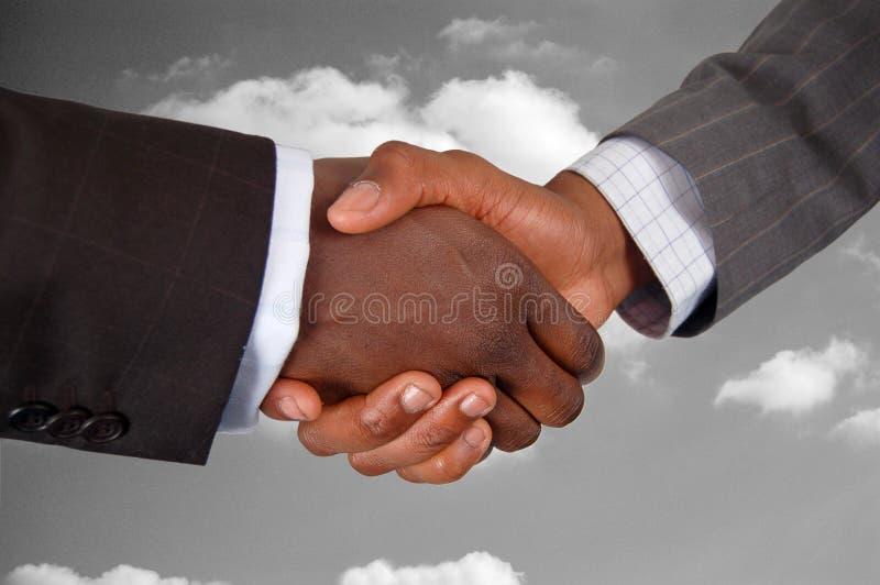 De Overeenkomst van de nadruk stock afbeelding