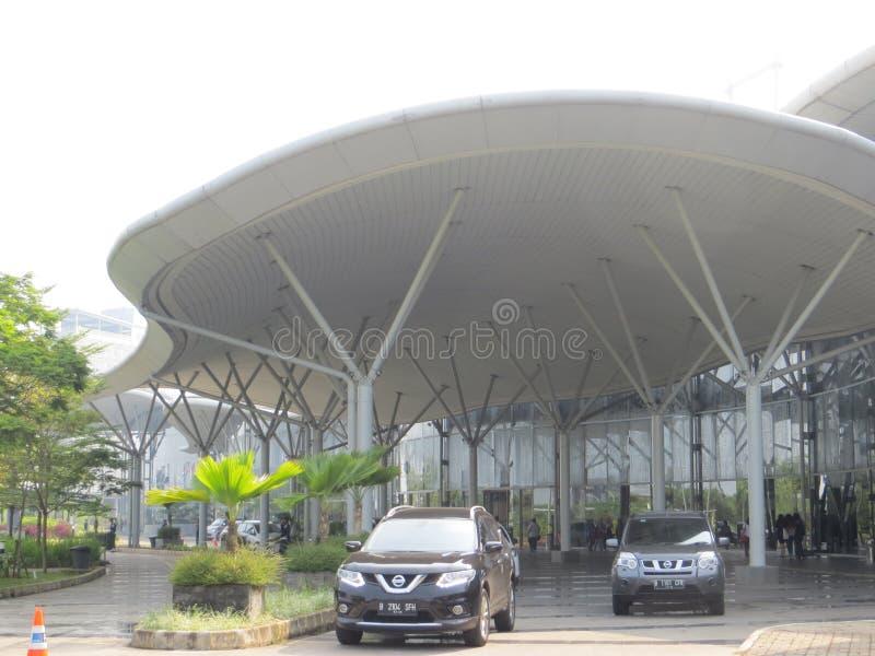 De Overeenkomsttentoonstelling van Indonesië in Tangerang stock afbeelding