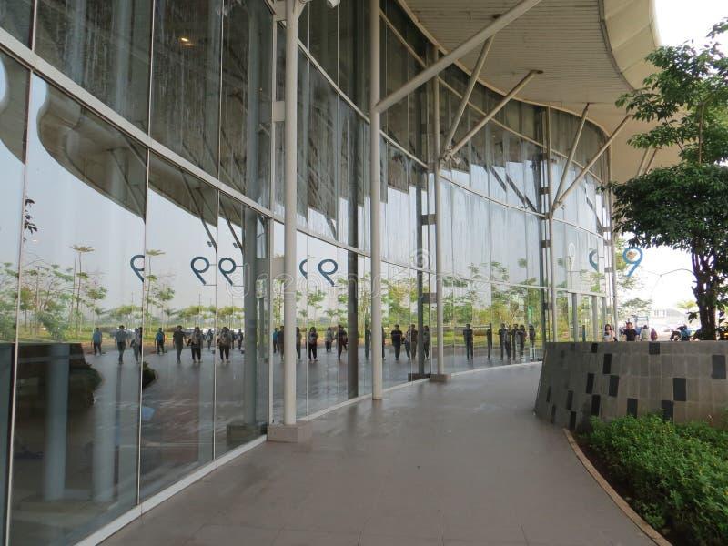 De Overeenkomsttentoonstelling van Indonesië in Tangerang stock foto