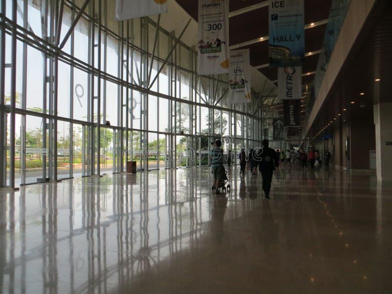 De Overeenkomsttentoonstelling van Indonesië in Tangerang royalty-vrije stock afbeeldingen