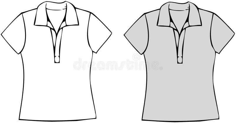 De Overhemden van het polo royalty-vrije illustratie