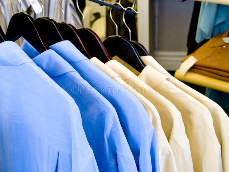 De Overhemden van Mens stock afbeeldingen