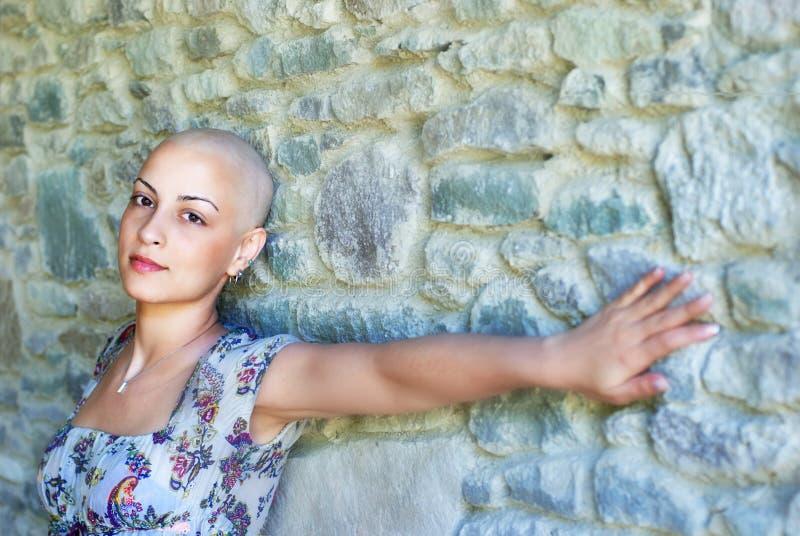 De Overlevende van Kanker van de borst royalty-vrije stock afbeeldingen