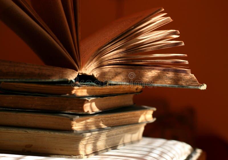 De pagina's van het boek stock foto