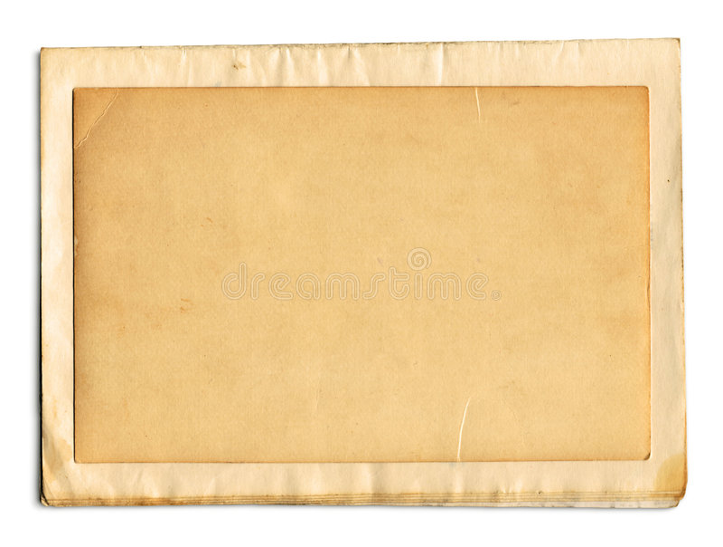 De Pagina's van het oude Boek (+clipping weg, XXL) stock afbeelding