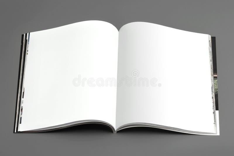 De pagina's van het tijdschrift (breedte) royalty-vrije stock fotografie