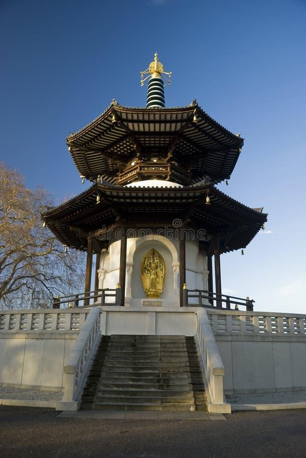De Pagode van het Park van Battersea royalty-vrije stock foto