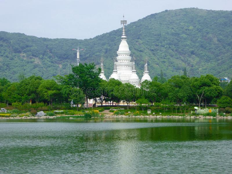 De pagode van Manfeilong royalty-vrije stock foto's