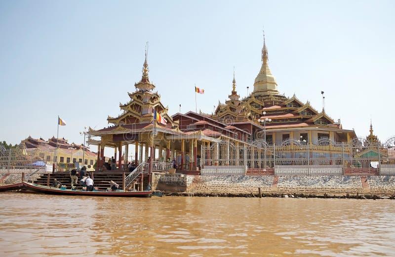 De Pagode van Phaungdaw Oo stock fotografie