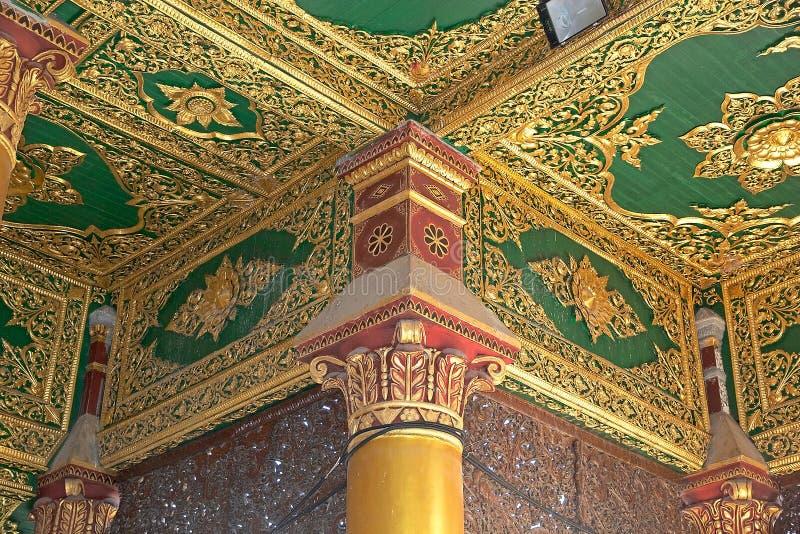 De pagode van Shwedagon, Yangon, Myanmar royalty-vrije stock afbeeldingen