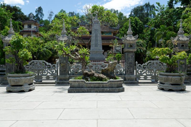 De Pagode van Trang van Nha royalty-vrije stock foto's