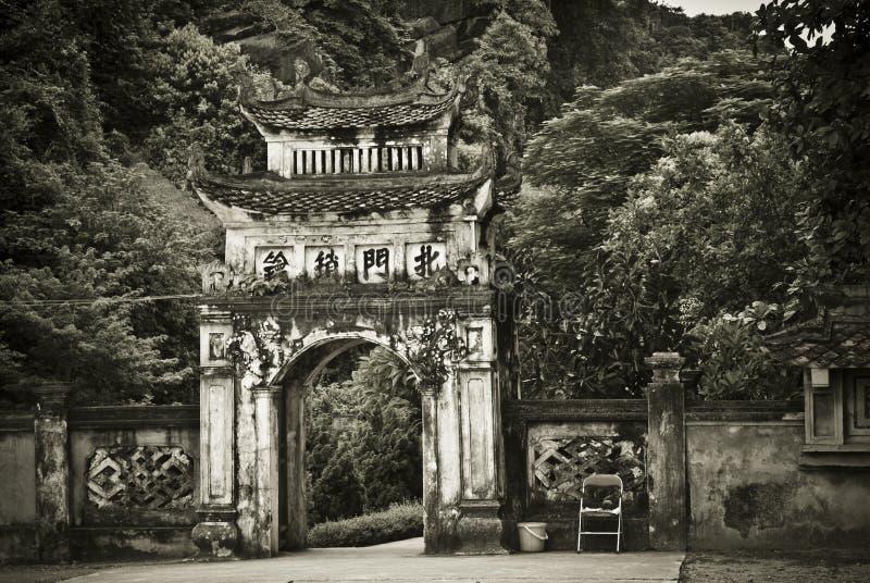 De Pagode van Vietnam royalty-vrije stock foto's