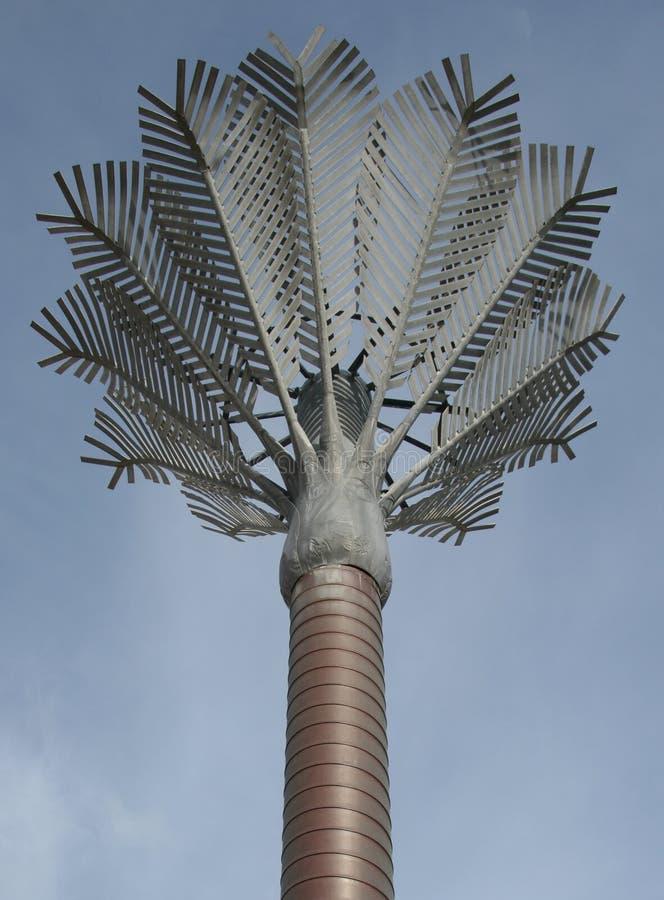 De Palm van het metaal royalty-vrije stock foto