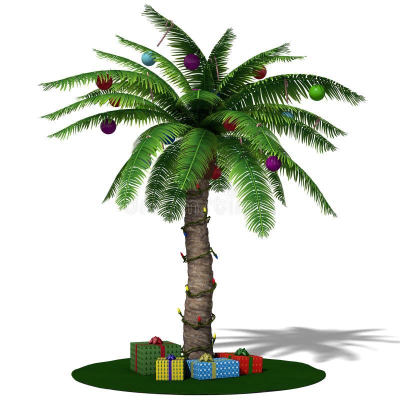 De Palm van Kerstmis. royalty-vrije illustratie