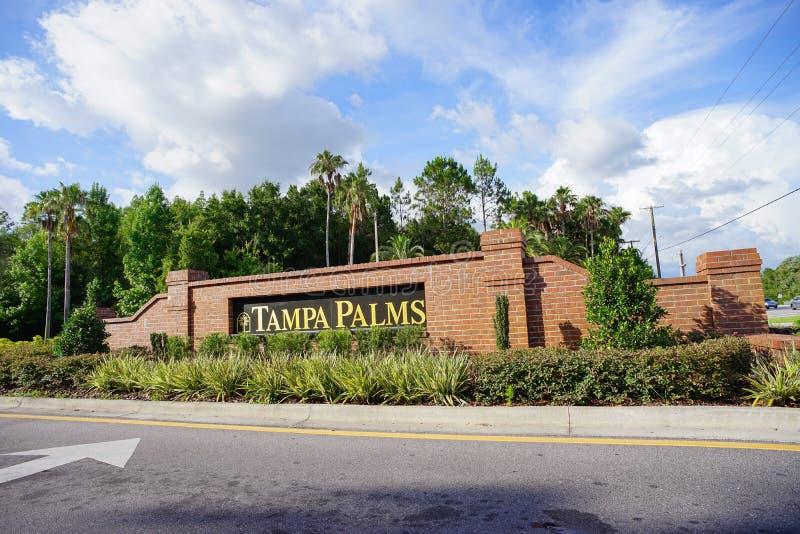 De palmgemeenschap van Tamper stock foto