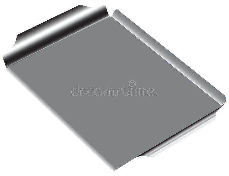 De Pan van de staalgrill vector illustratie
