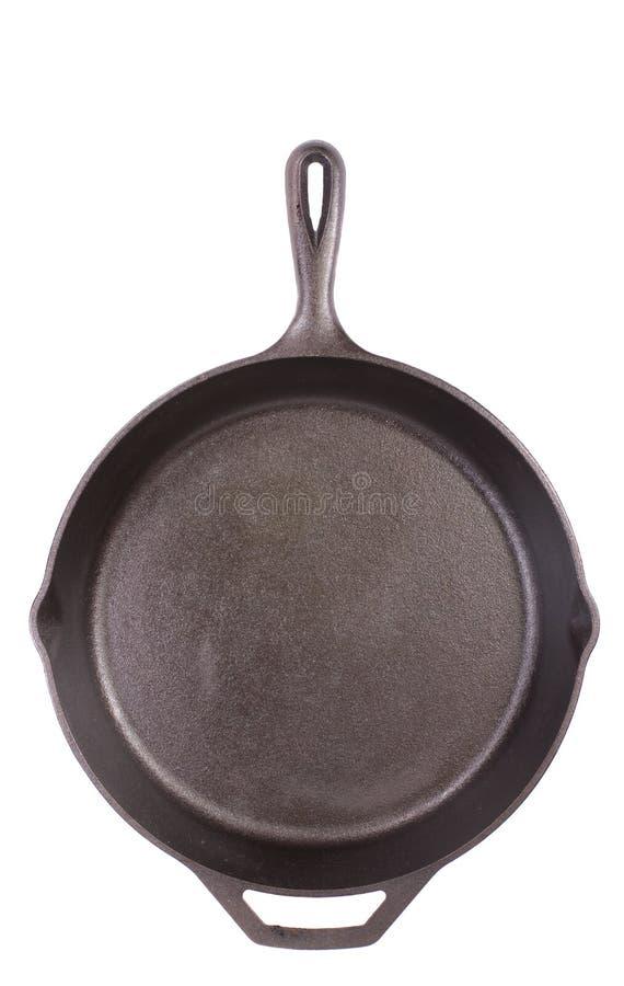 De Pan van het Gietijzer stock afbeeldingen