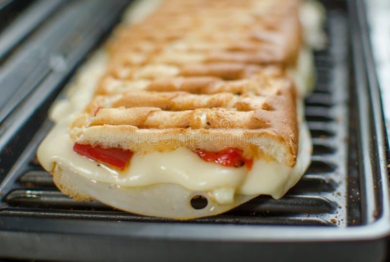 De Paninisandwiches italien royalty-vrije stock afbeelding