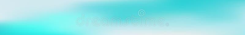 De panoramische abstracte achtergrond van het gradiëntnetwerk Horizontale mening voor een glaspanelen - skinali In zachte kleuren stock illustratie