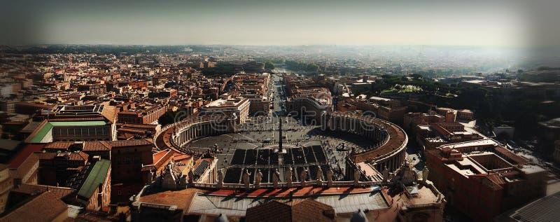 De Panoramische Steek van Smartphone van de Stad van Vatikaan royalty-vrije stock afbeeldingen