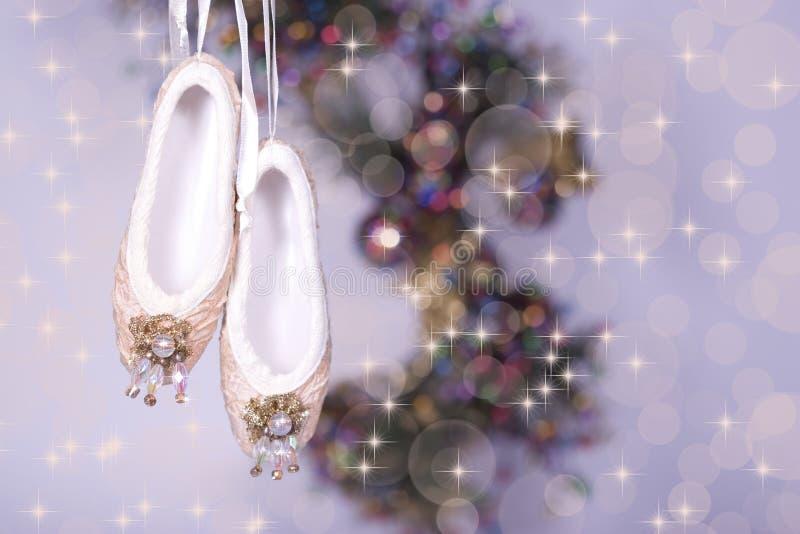 De Pantoffels van het ballet royalty-vrije stock afbeeldingen