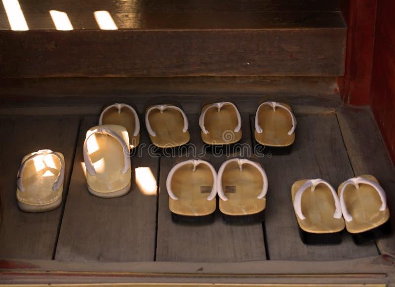 De pantoffels van monniken stock afbeeldingen