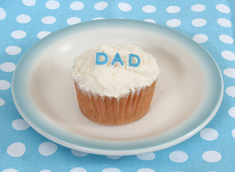 De papa van Cupcake royalty-vrije stock fotografie