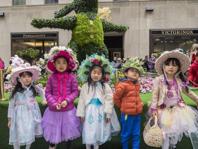 De Parade en de Bonnetfestival 2018 van Pasen royalty-vrije stock foto